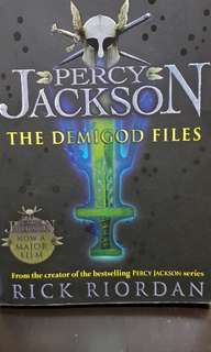 Percy Jackson- the demigod file.
