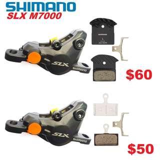Shimano SLX M7000 Disc Brake Caliper Only-------- (XTR M9020 XT M8020 M8000 M785 SLX M7000 M675 M315 MT2 MT4 MT5 MT5E MT6 MT7 MT8 Trail) Dyu