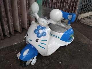 Hello Kitty mini motor (Blue)