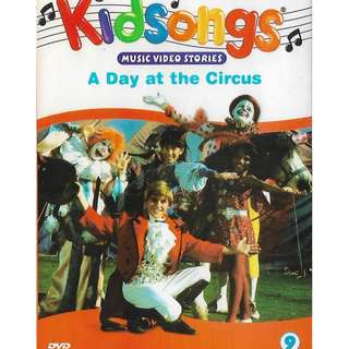 Kidsongs Vol.9 A Day At The Circus DVD