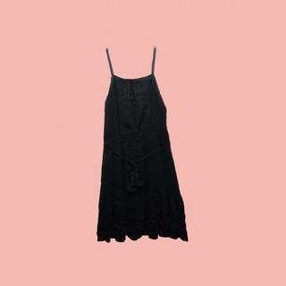Boho Black Dress (Bohemian Fashion)