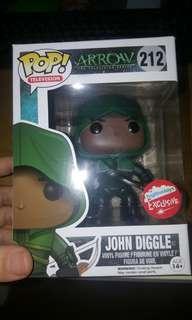 Funko Pop DC Heroes Arrow John Diggle Fugitive Exclusive