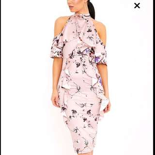 PLT Floral Midi Dress