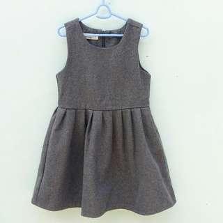 Wool dress for girls
