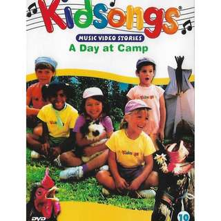 Kidsongs Vol.10 A Day At Camp DVD