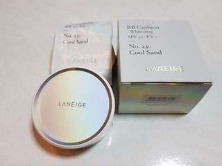 🚚 Laneige 23C Whitening BB Cushion (Cool Sand) 15g x 2
