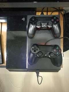 PS4 original 2x controllers