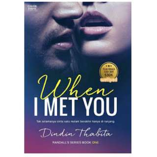 Ebook When I Met You - Dindin Thabita