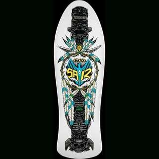 Powell Peralta Skateboard Deck old Skool Steve Saiz