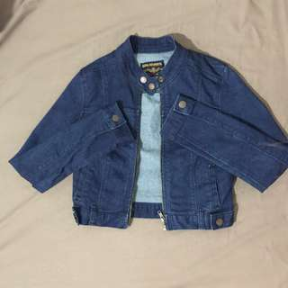 *SM Jeans* Cropped Denim Jacket