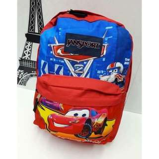 Jansport Bag (Cars Design) For Boys