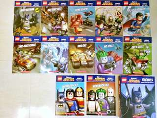 Lego DC universe super hero reader sets