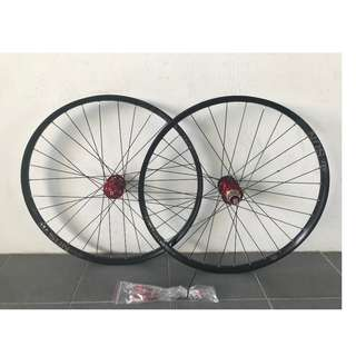 (New Arrival) Custom Build Chosen 4591/4597 Loud sound/Smooth Wheel set with Sun Ringle DUROC 35 Rims (27.5er)