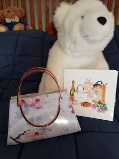 Authentic Ted Baker bag