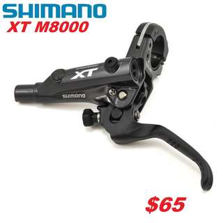 Shimano XT M8000 Brake Lever Only-------- (XTR M9020 XT M8020 M8000 M785 SLX M7000 M675 M315 MT2 MT4 MT5 MT5E MT6 MT7 MT8 Trail) Dyu