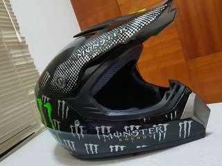 Monster Full Face Helmet e-scooter MTB DH MotoX