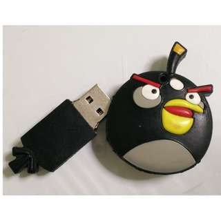 🚚 Black Angry Bird 4GB USB