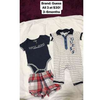 Guess Baby Boy Romper