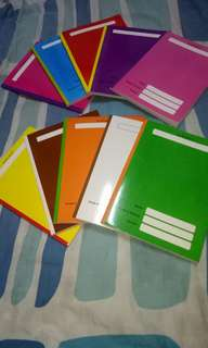 School Supplies (Notebook Composition and Writing)