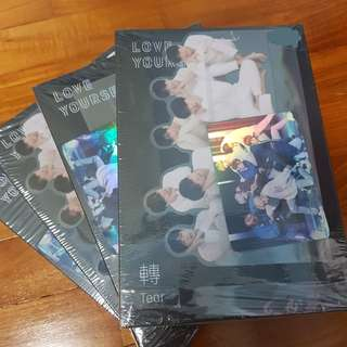 (WTS INSTOCKS) BTS LY TEAR ALBUMS unsealed