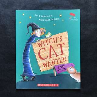 💥 NEW - Witch's Cat Wanted - Children storybook