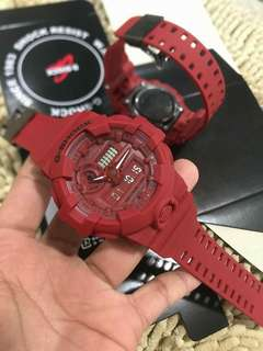 GA-700 RED OUT GSHOCK EDITION WATCH