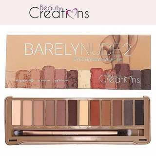 BEAUTY CREATIONS Barely Nude Eye Shadow Palette