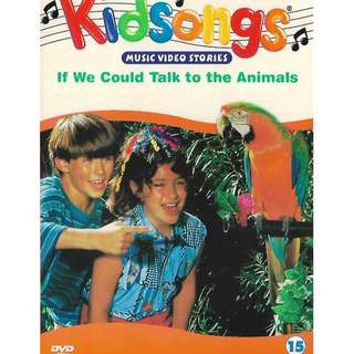 Kidsongs Vol.15 If We Could Talk To The Animals DVD