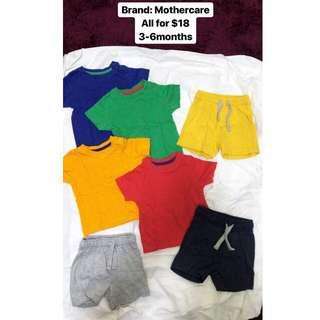 Babyboy Tshirt and Pants