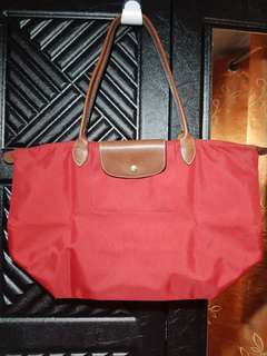 Original longchamp medium shoulder bag