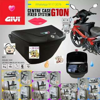 3105**-- GIVI Front Box G10N With Key Lock...Yamaha Sniper, Yamaha jupiter, Spark, Yamaha 125Z, Yamaha Sniper 150, Honda Wave Etc.