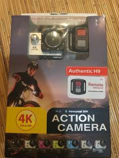 AUTHENTIC H9 4K ULTRA HD ACTION CAMERA WITH REMOTE