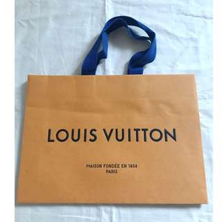 Louis Vuitton LV small size shopping bag 名牌購物紙袋