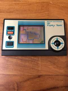 "IN EXCELLENT USED CONDITION! Vintage Bandai Electronics Handheld Game ""Frisky Town"""