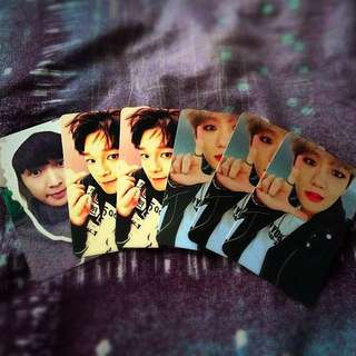 EXO Sing For You Official Photo Cards