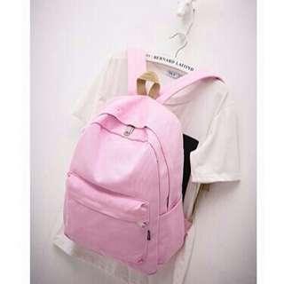Korean Candy Plain Backpack