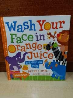 Buku Anak Wash Your Face In Orange Juice