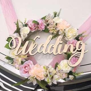 Bridal Car Decor Set