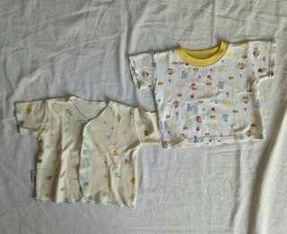 Bundling 2pcs Atasan Newborn