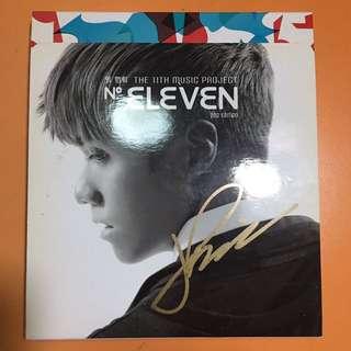 張敬軒 Eleven 親筆簽名CD