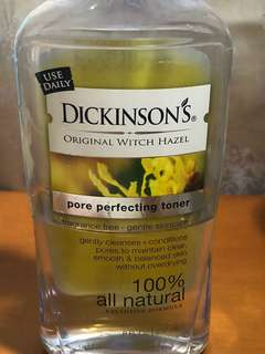 Dickinsons witch hazel pore perfecting toner 237ml