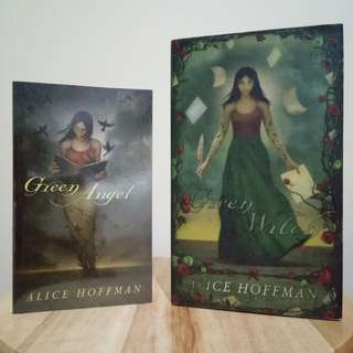 (Set) Green Angel and Green Witch by Alice Hoffman