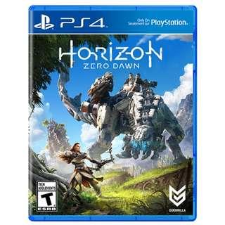 PS4 Game: Horizon Zero Dawn