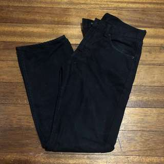 LEVI'S 505 Black Denim Jeans