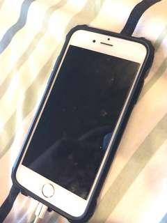 iPhone 6 GOLD 16 GB tanpa garansi, kabel charger tidak ori nego tipis free spigen ori dan banyak case lain