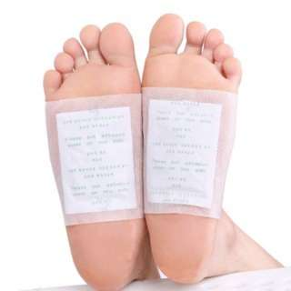 (299)100 PCS Detox Foot Patch Pads Detoxify Toxins Fit Health