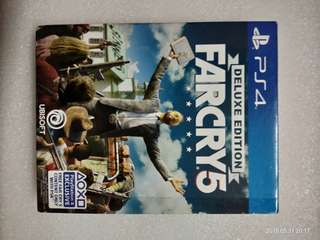 PS4 GAME FARCRY 5 DELUXE EDITION