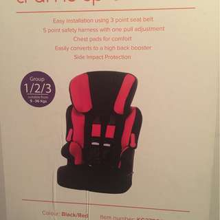 New Kiddicare Child Car Seat imported from UK