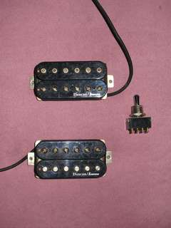 Duncan/Ibanez Humbuckers & OTAX 3-way toggle switch