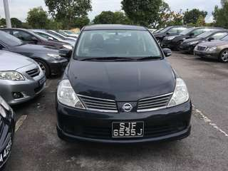 Latio sedan 1.5A 2008  Rm5,500